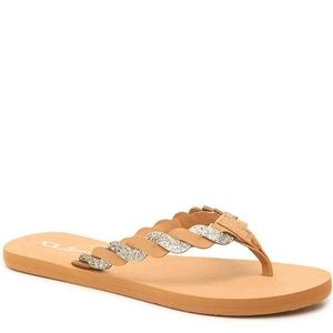 CL by Laundry-Pennie Flip Flops NWT
